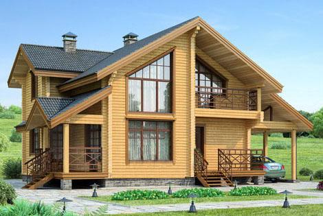 деревянные дома из бруса фото проекты фото