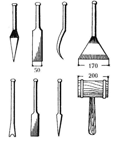 Лопатка для конопатки своими руками 26
